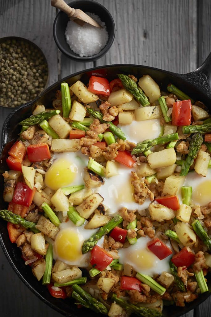Best Breakfast Skillet with Chicken