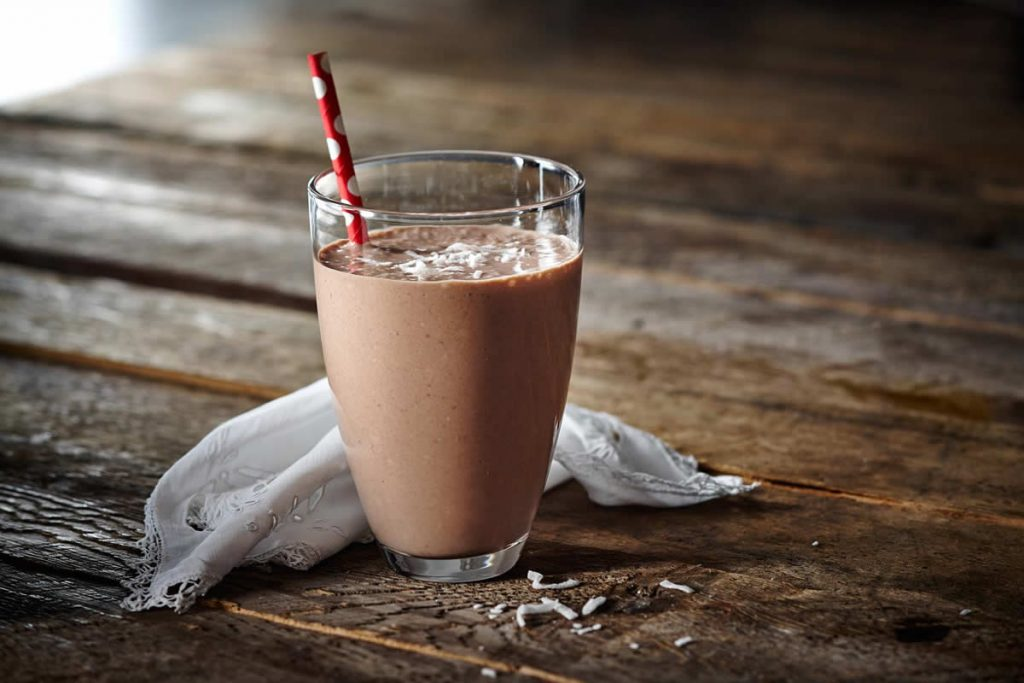 Cocoa-Coconut-Banana-Smoothie