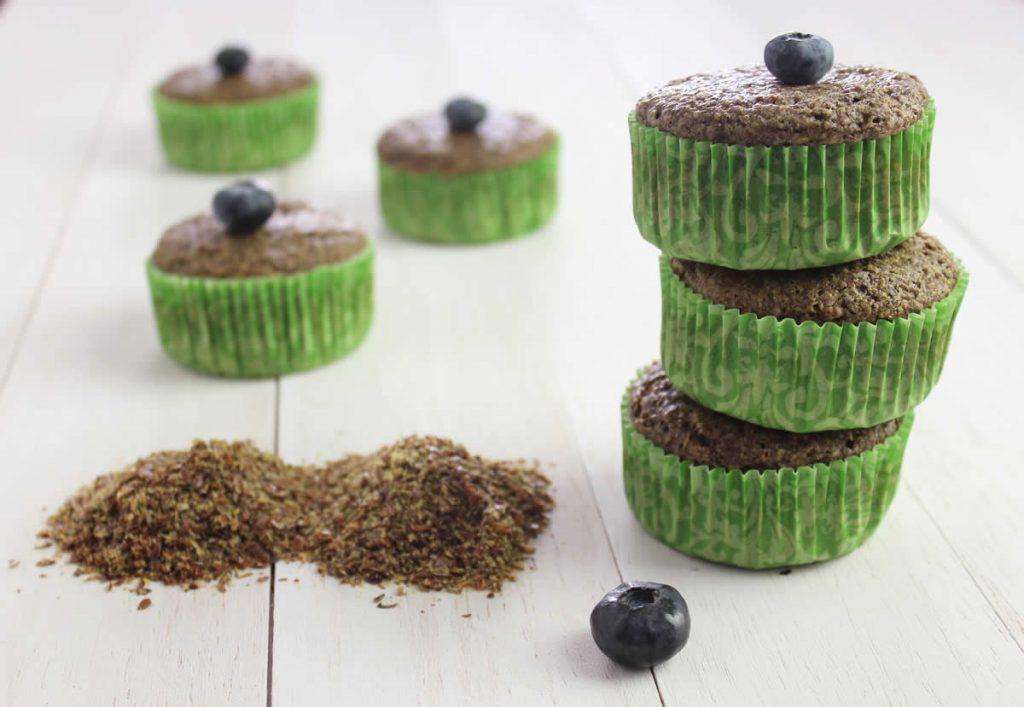 2TbspFlax Muffin