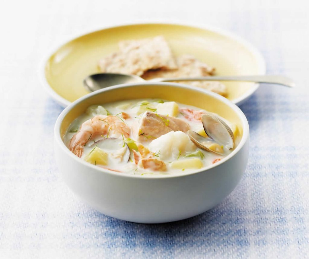 Classic-Maritime-Seafood-Chowder