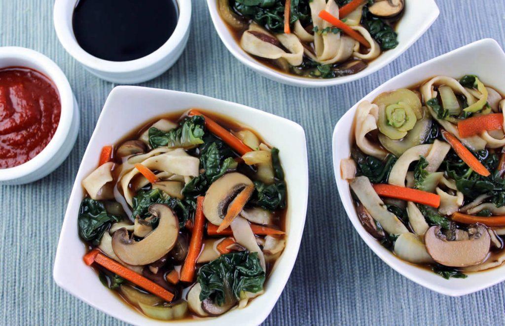 Flax-Noodle-Miso-Soup