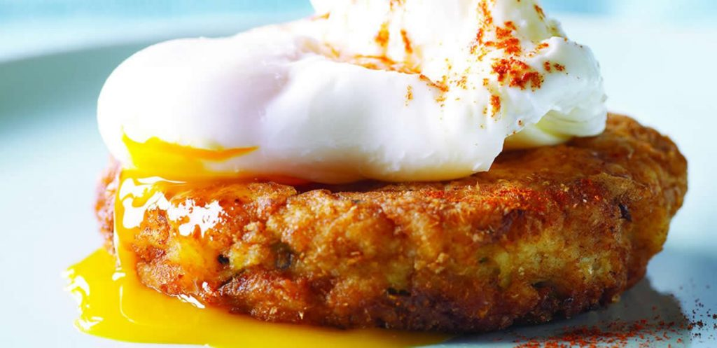 Ground-Chicken-Hash-Patties-with-Poached-Eggs