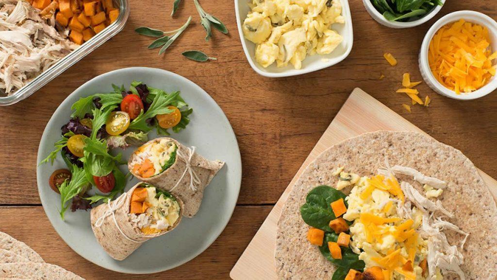 Leftover-Turkey-Sweet-Potato-and-Scrambled-Egg-Wrap