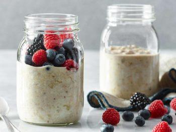 Overnight Hearty Oatmeal Breakfast