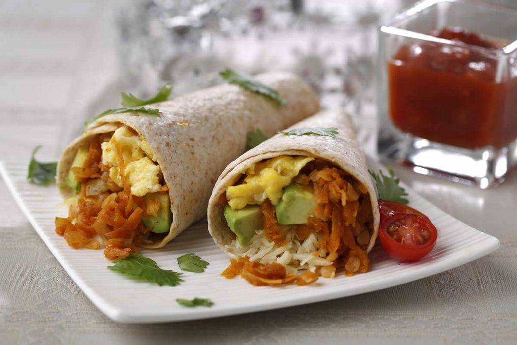 Zesty-Lentil-Breakfast-Burrito