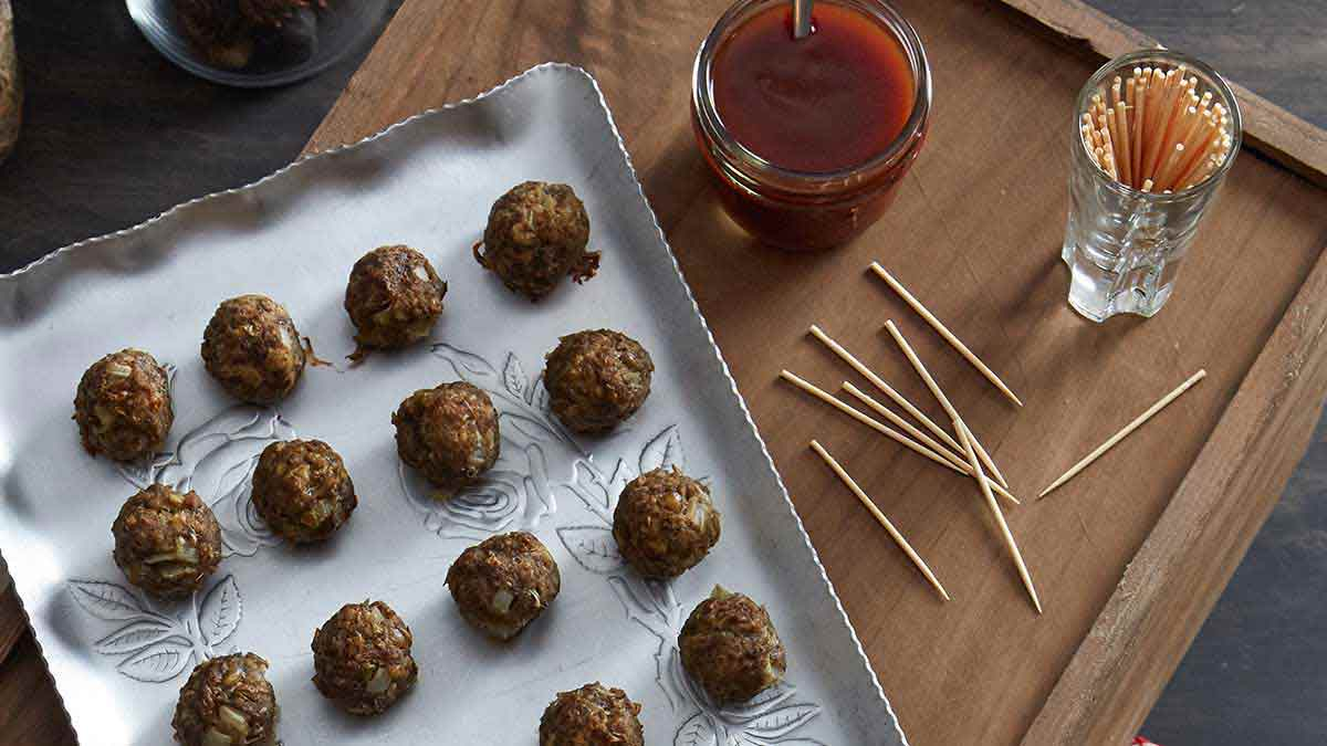 cocktail-sized-baked-lentil-meatball