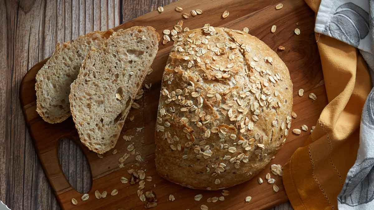 no-knead-oat-bread