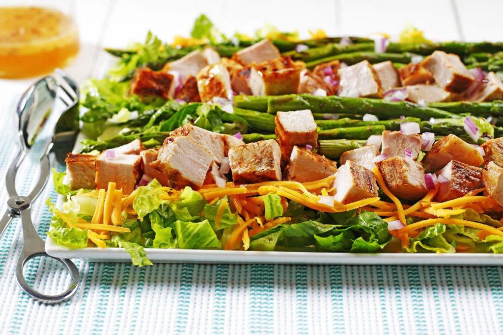 Mesquite Pork Row Salad