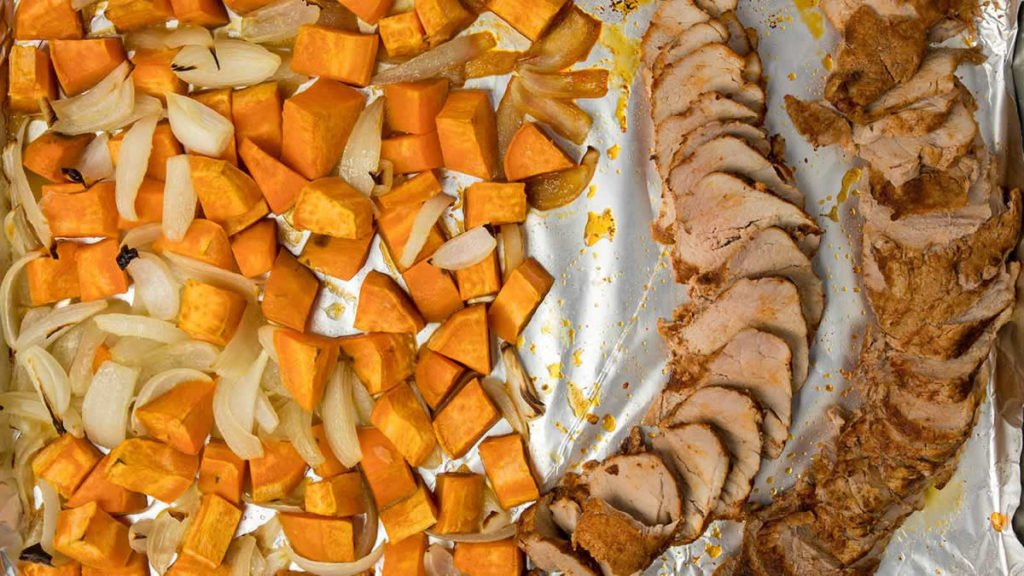 Sheet-Pan-Pork-Tenderloin-and-Thyme-Aioli-with-Sweet-Potatoes