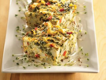 Spinach and Potato Frittata feature