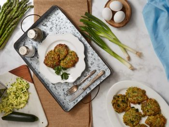 Spring Green Veggies Fritters