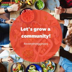 Let's grow a community