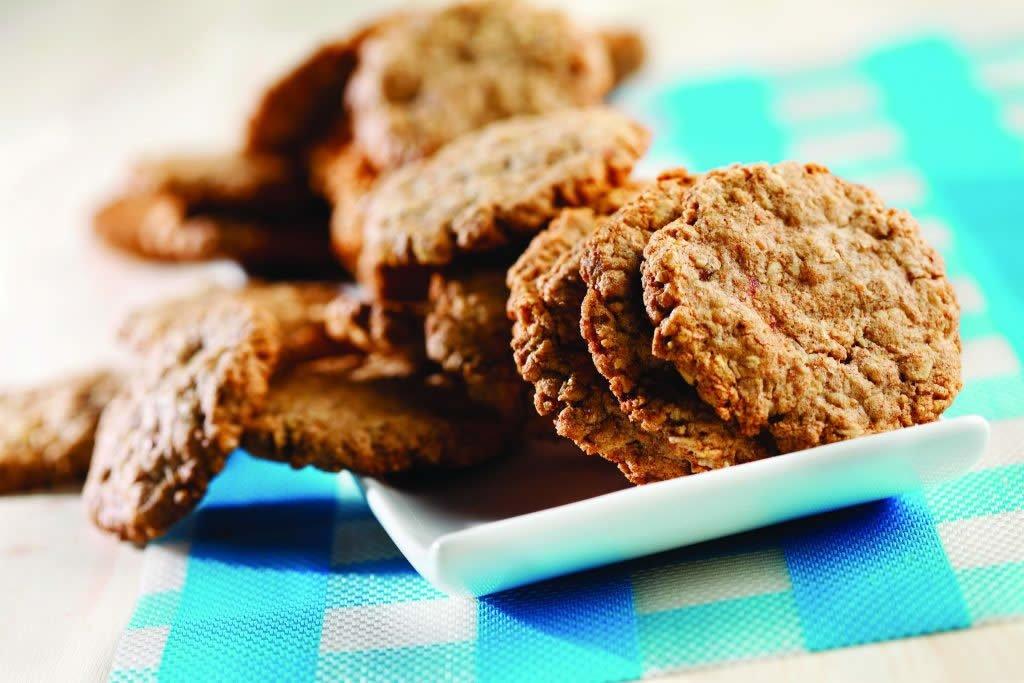 Triple Oat Cookies