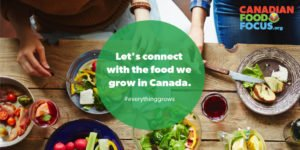 Let's connect with the food we grow in Canada