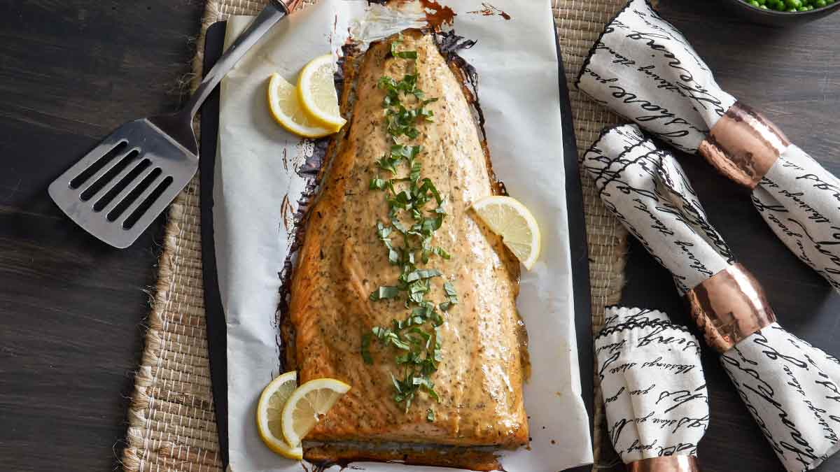 baked-salmon-with-honey-mustard-