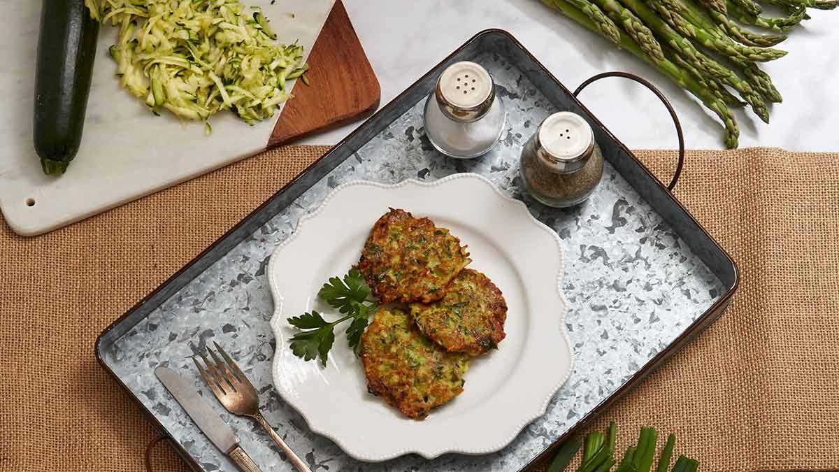 Spring-green-veggie-fritter-recipe