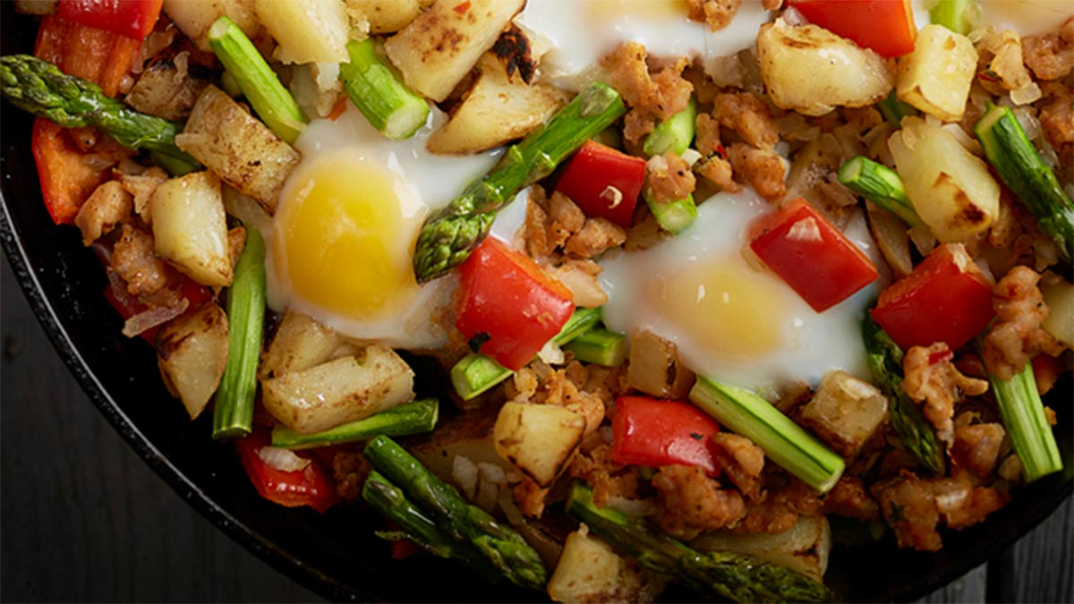 best-breakfast-skillet-and-chicken