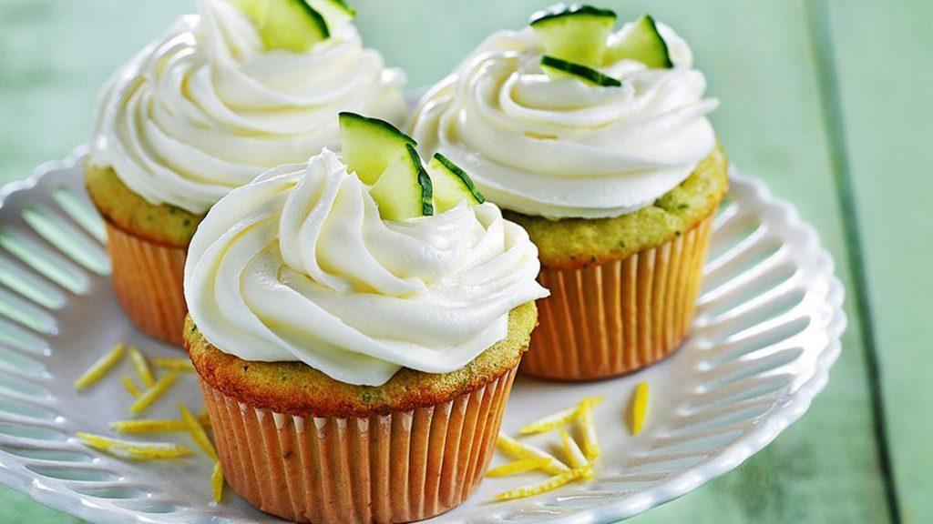 cucumber cupcake