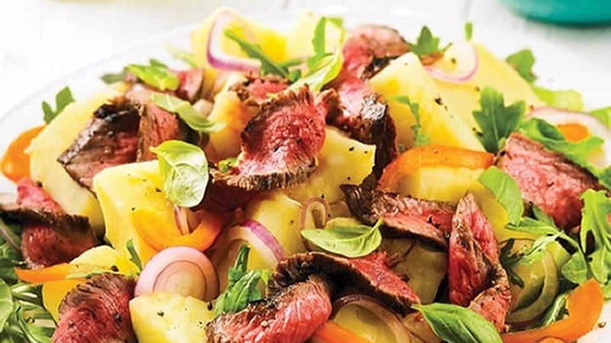 grilled-steak-and-potato-salad