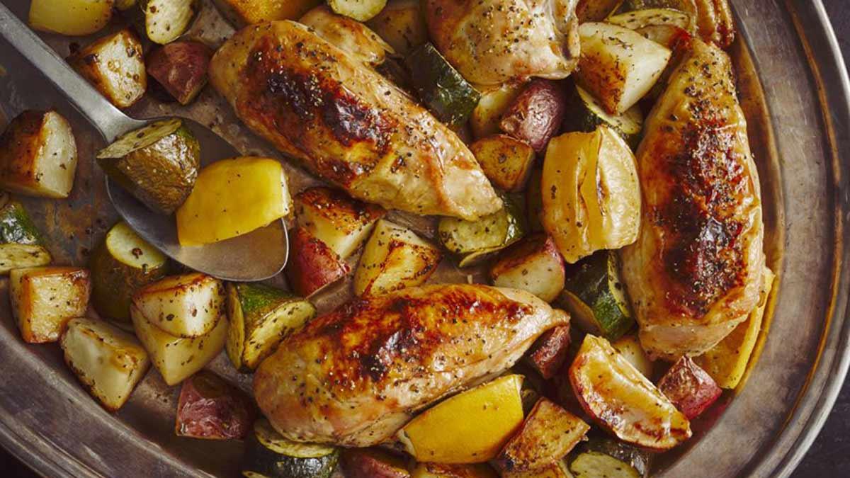 Sheet-Pan-Lemon-Chicken