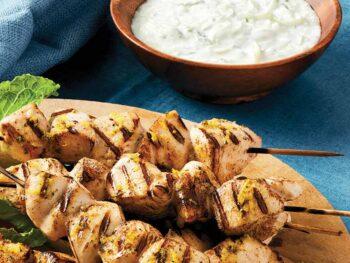 chicken-souvlaki-with-tzatziki