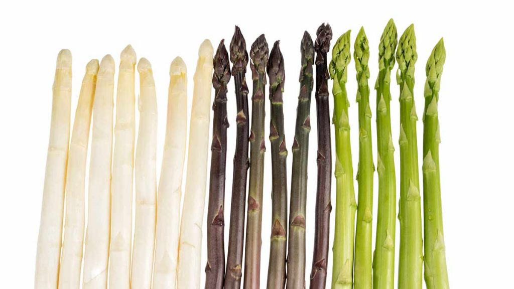 types of asparagus