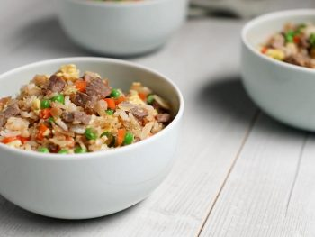 beef and egg fried rice