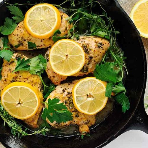 skillet-lemon-chicken-with-herbs