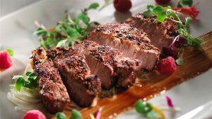 grilled-raspberry-dijon-pork-butt-steak