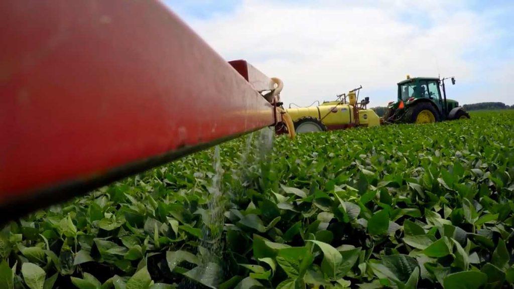 fungicide application