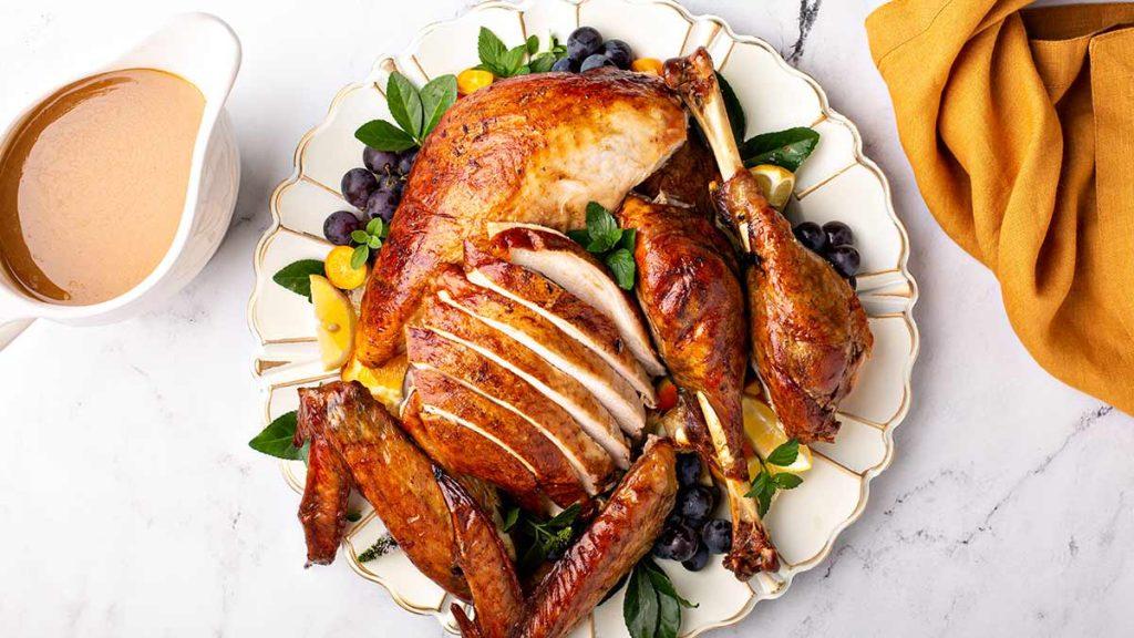 Roast-Turkey-Parts-With-Maple-Thyme-Glaze